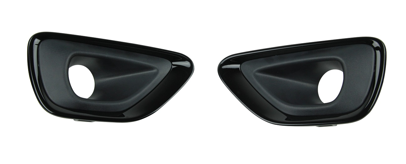 2014 WK2 Altitude Black Fog Lamp Bezels