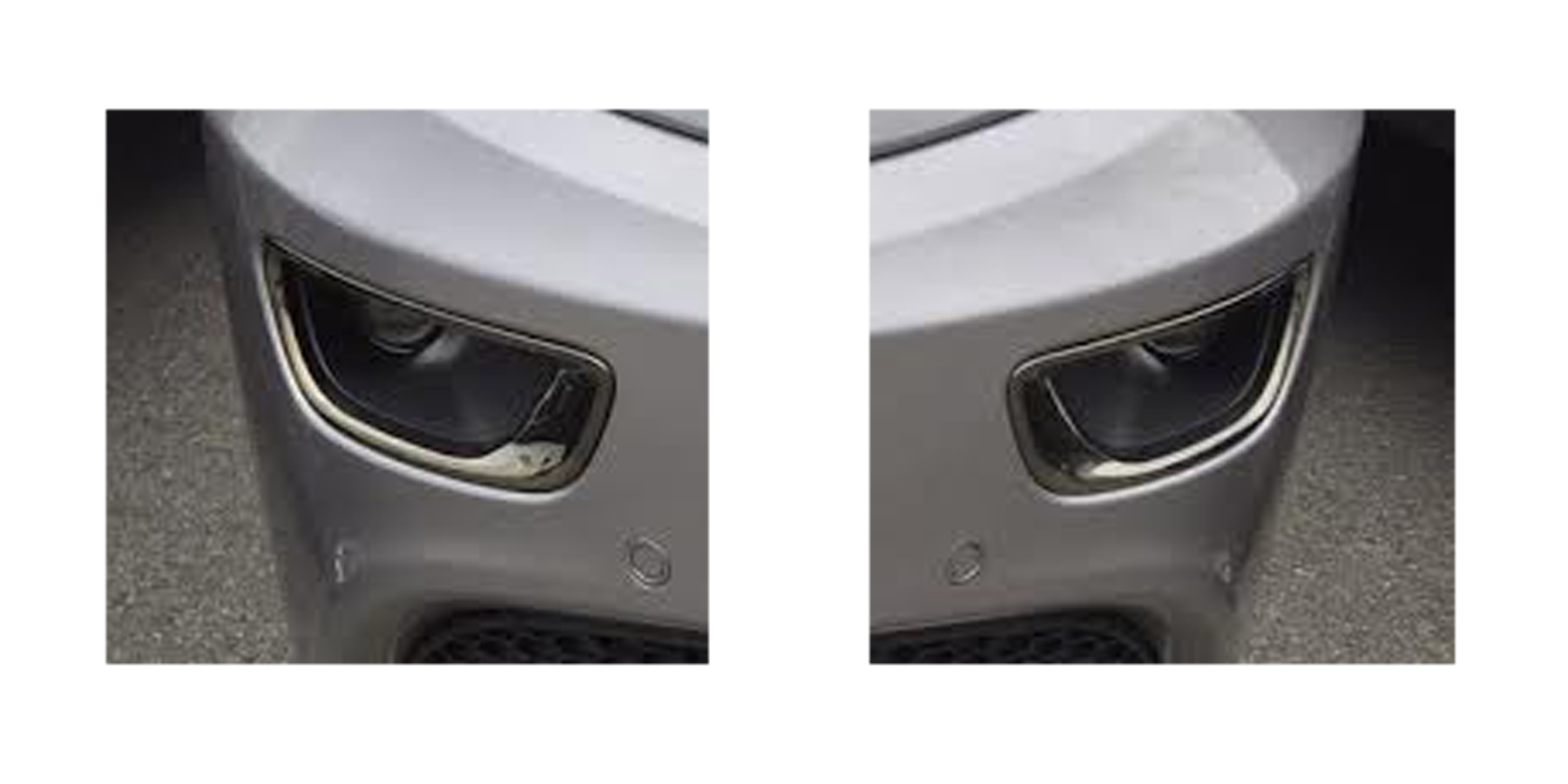 2015 Trivalent Chrome Fog Lamp Bezels