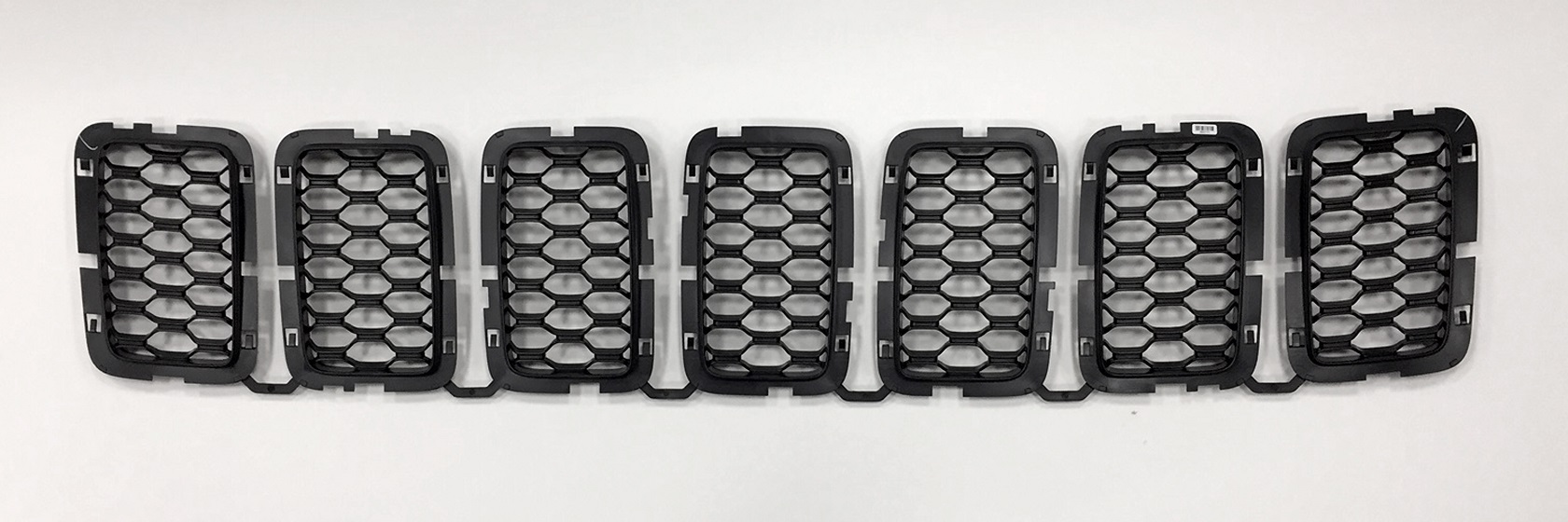 2017 Grand Cherokee Black Honeycomb Grill Inserts
