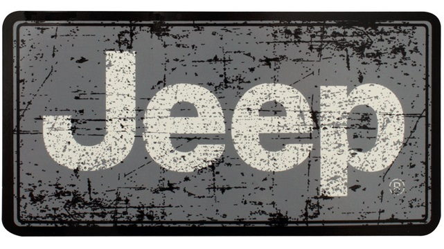 "5"" Jeep Distressed Decal"