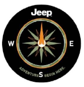 Adventure Begins Here Tire Cover