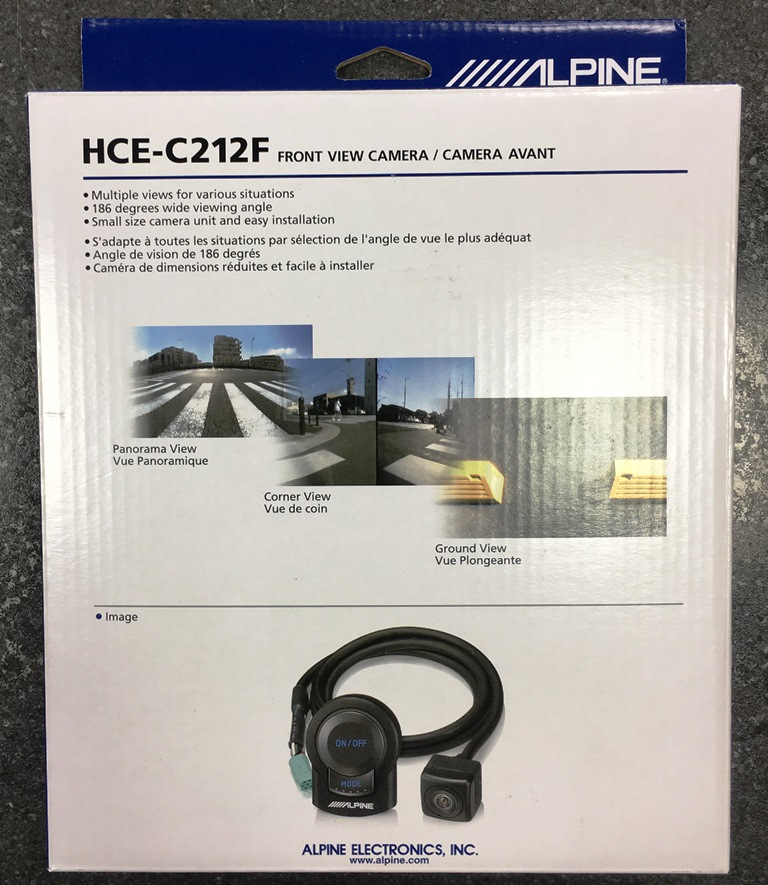 Alpine HCE-C212F Multi View Front Camera