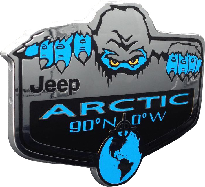 Arctic Badge Decal