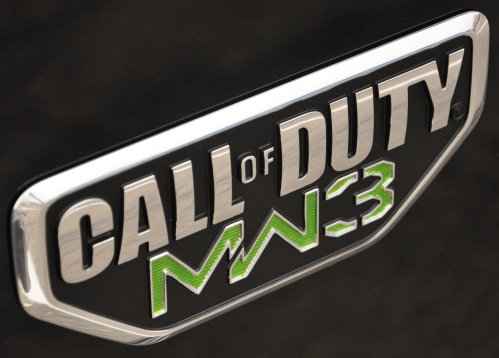 Call of Duty MW3 Badge Decal