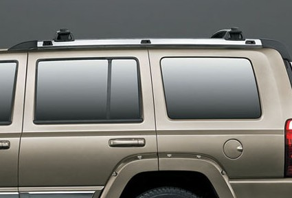 Chrome Side Roof Rails