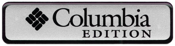 Columbia Edition Badge Decal