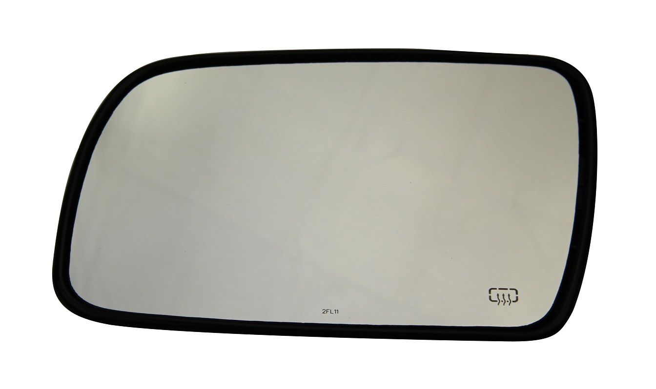 Driver Side Power Fold Away Mirror Glass