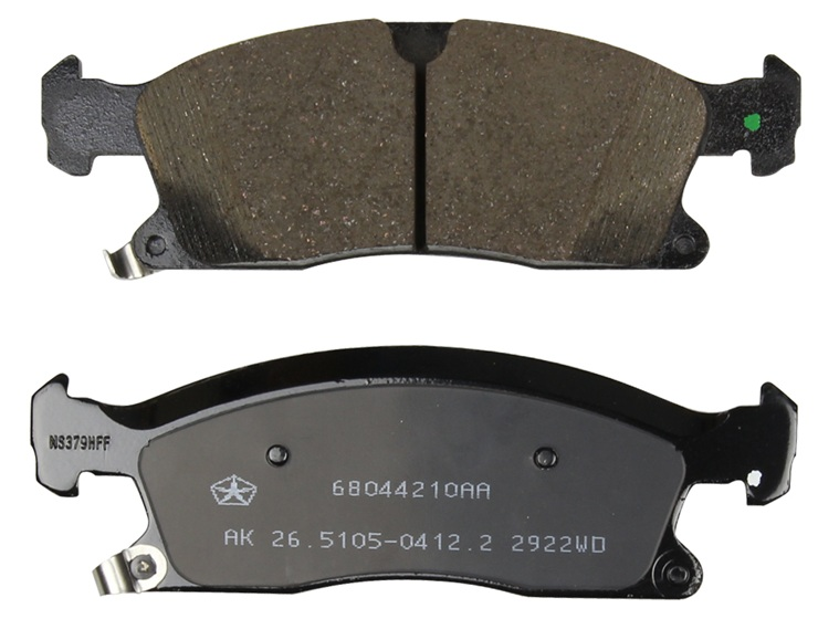 Front Brake Pads (BR6, BRY or BR1)