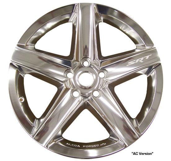 Front SRT8 Wheel (Alcoa Forged DB)