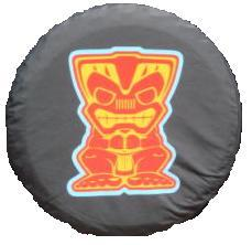 "Islander Edition ""Tiki"" Tire Cover"