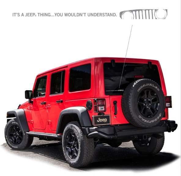 It's a Jeep Thing Small Decal