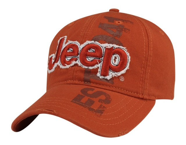 Jeep 3D Orange Cap
