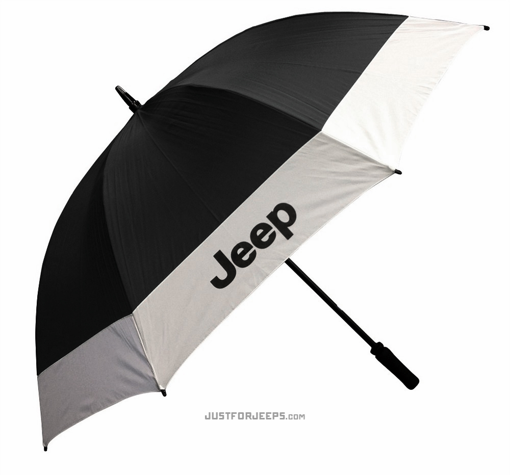 "Jeep 62"" Golf Umbrella"