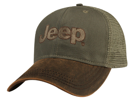 Jeep Brown Waxcloth Cap