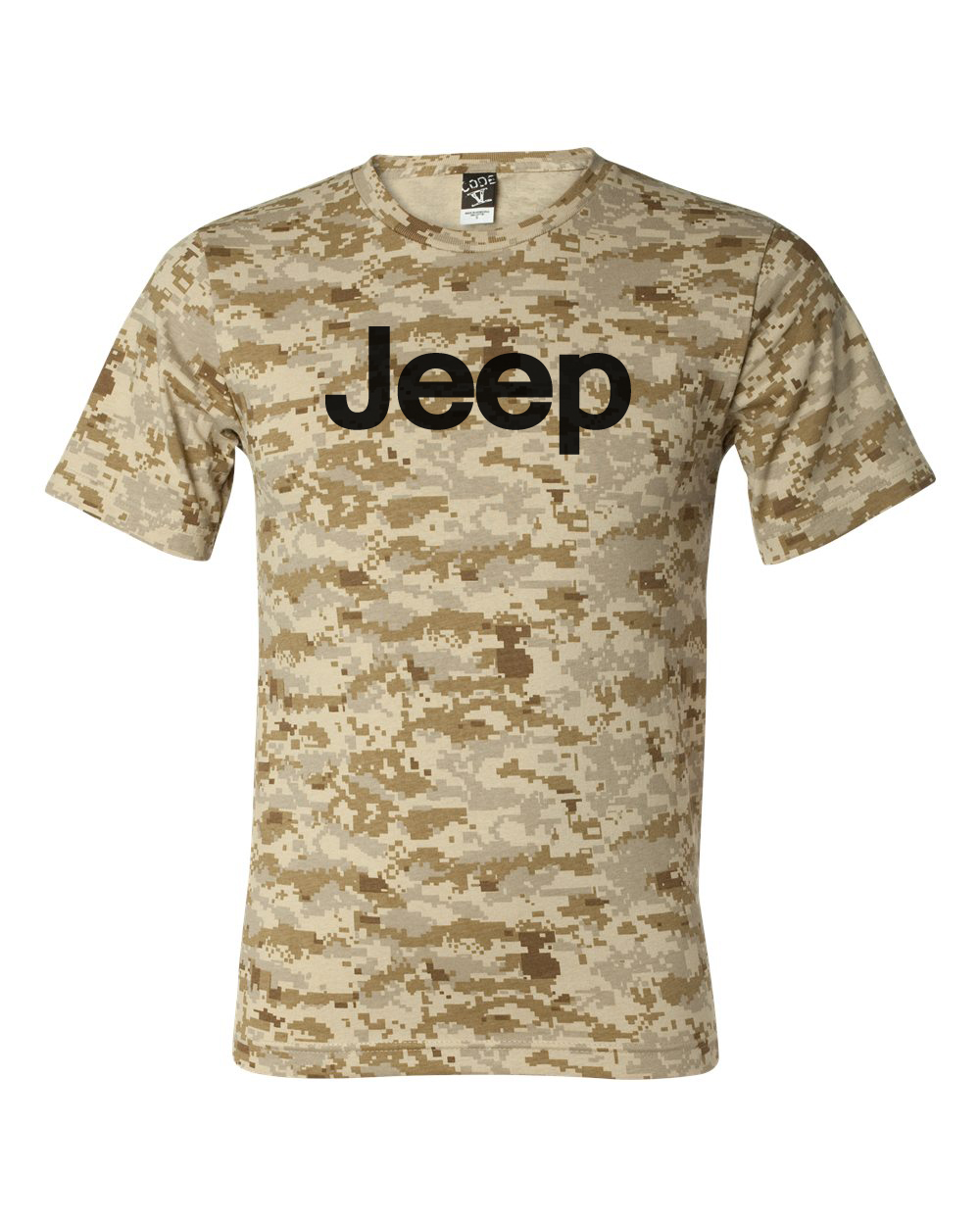 Jeep Desert Digital Camo T-Shirt