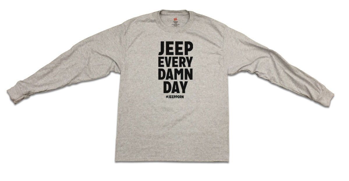 Jeep Every Damn Day Long-Sleeve T-Shirt