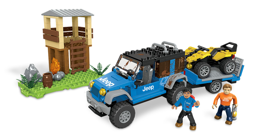 Jeep Forest Expedition Toy