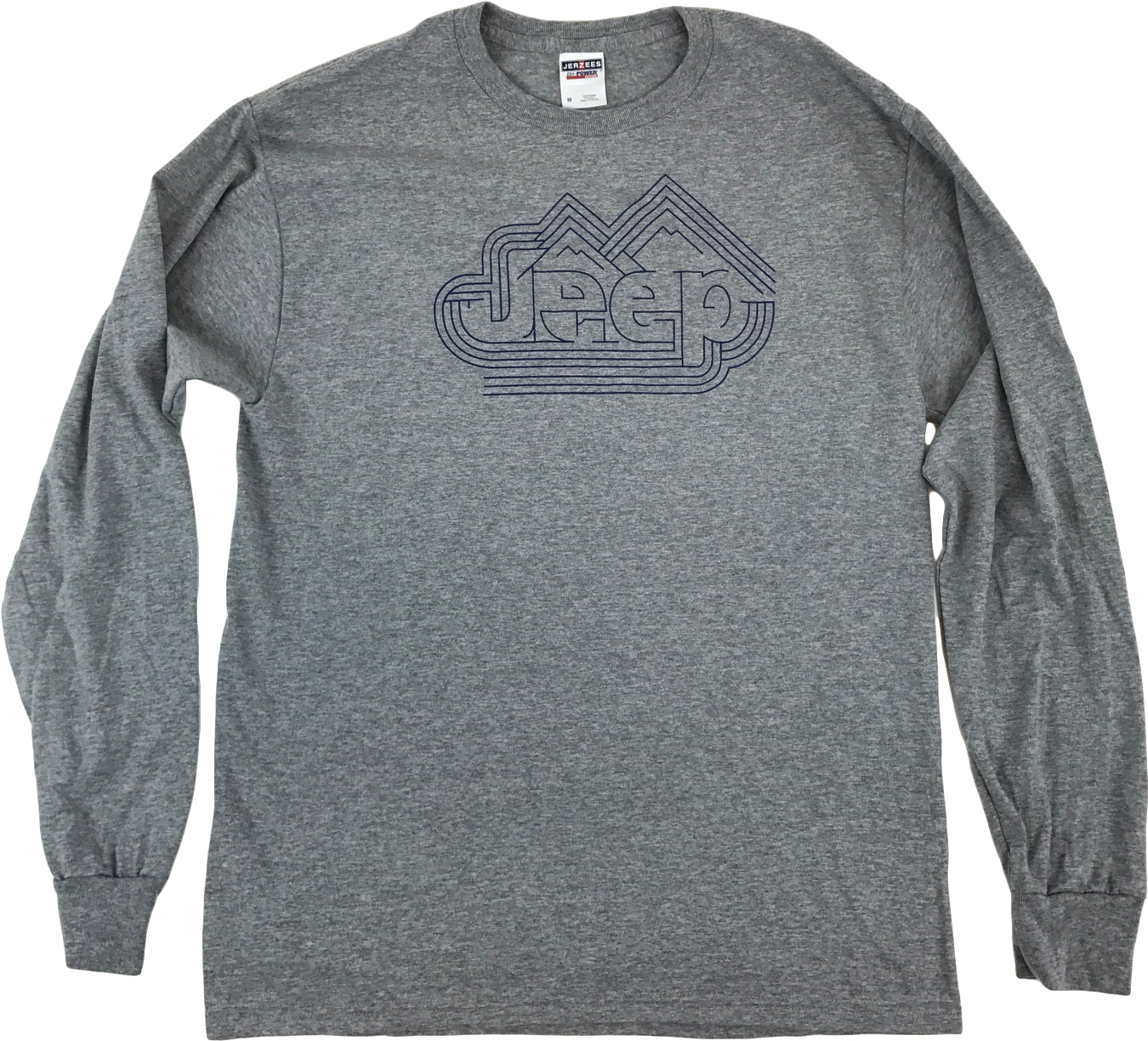 Jeep Gray Trailblazer Long Sleeve T-Shirt