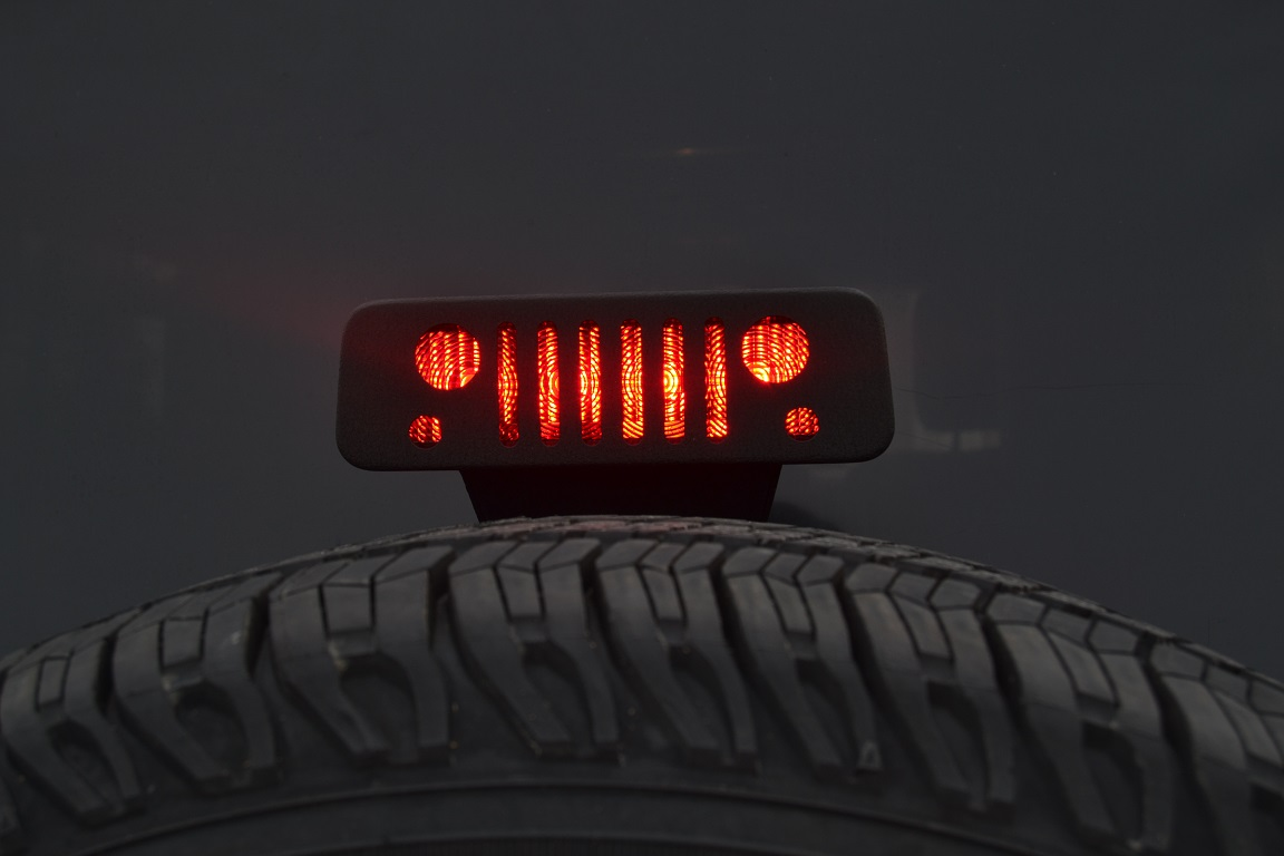Jeep Grill Third Brake Light Guard
