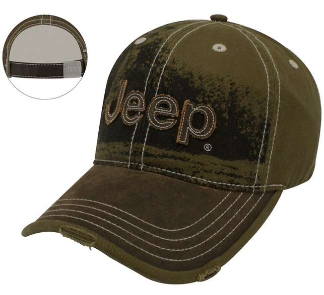Jeep Heavy Stone Wash Cap