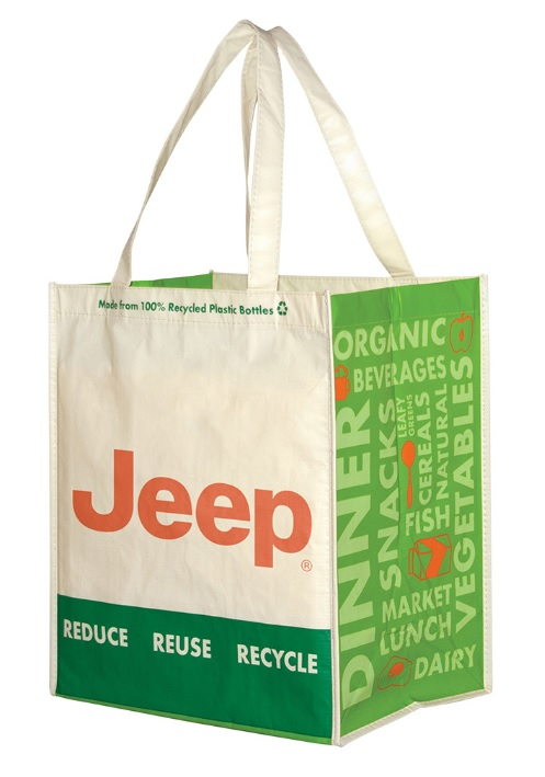 Jeep Laminated Grocery Bag