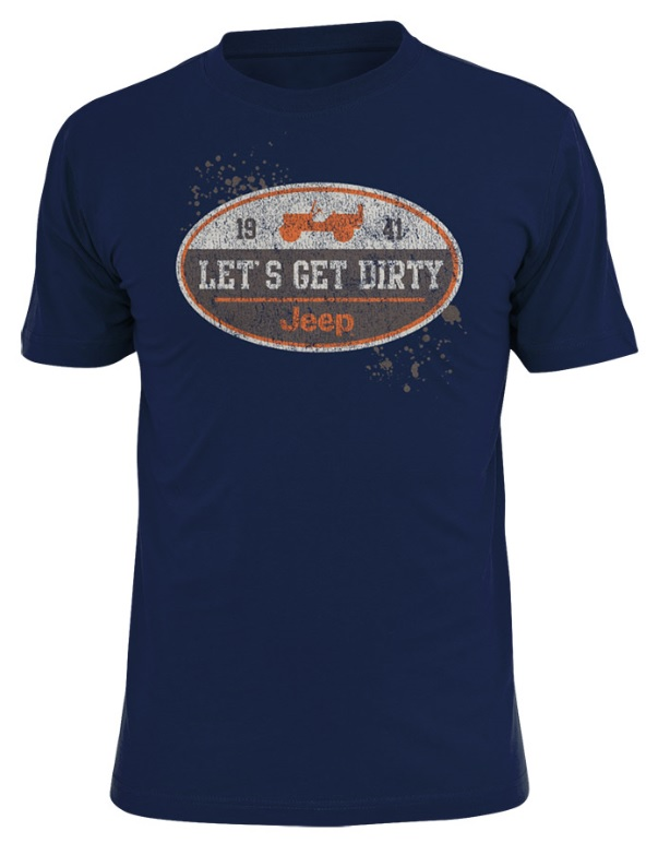 Jeep Let's Get Dirty T-Shirt