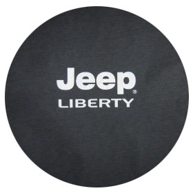 Jeep Liberty Logo Spare Tire Cover
