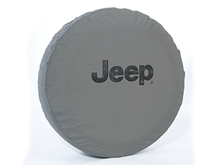 Jeep Logo Khaki Spare Tire Cover