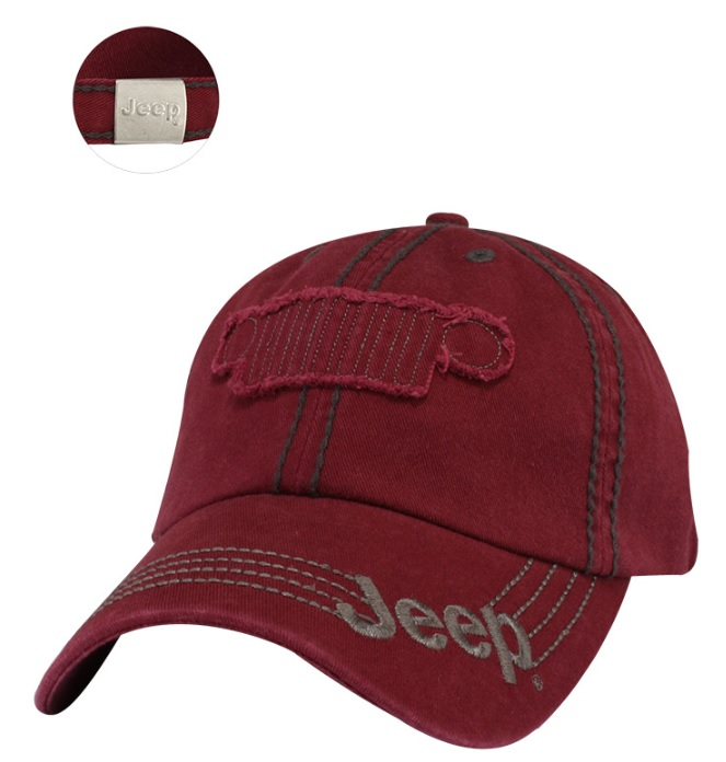 Jeep Maroon Grille Cap
