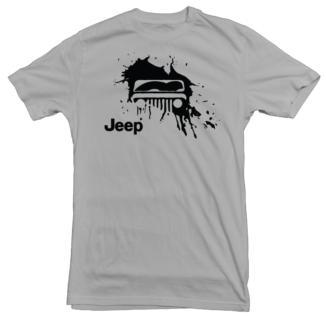 Jeep Mud Splat Gravel T-Shirt