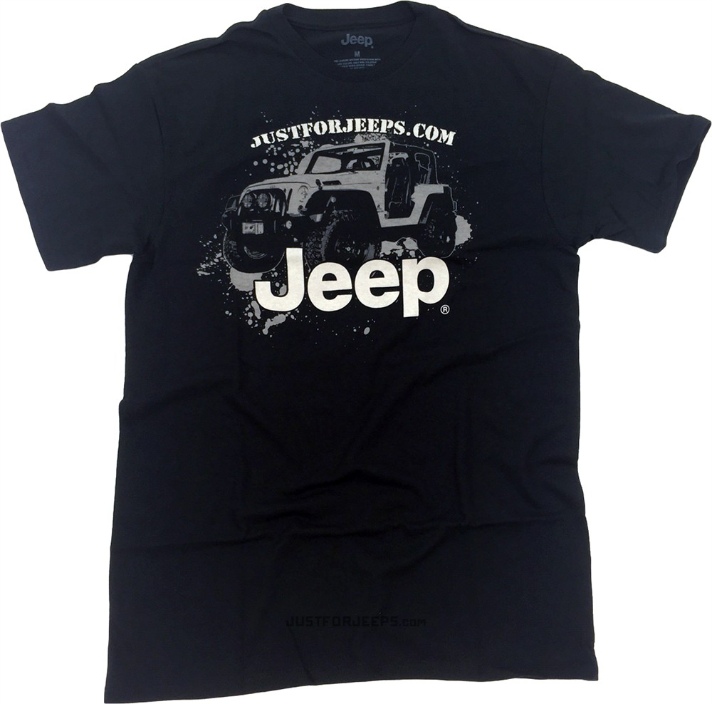 Jeep Mud Splatter JustForJeeps.com T-Shirt