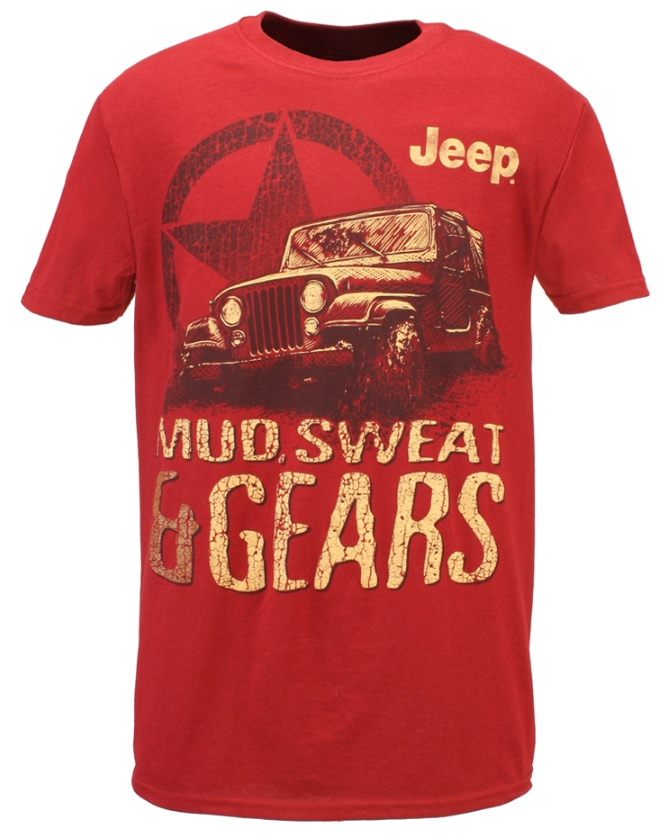 Jeep Mud, Sweat & Gears T-Shirt