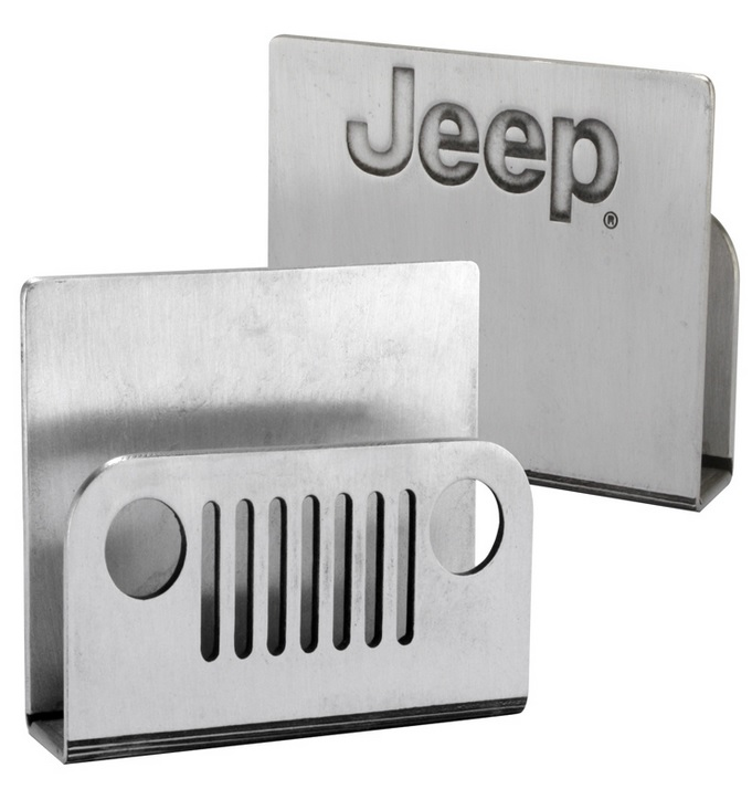Jeep Pewter Business Card Holder