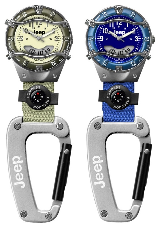 Jeep Phase IV Watch Backpacker Clip