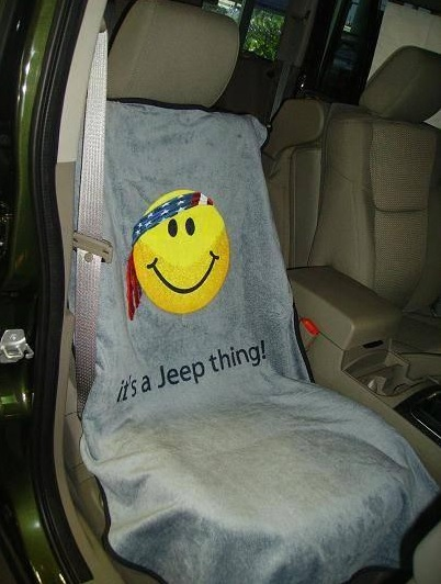 Jeep Smiley Seat Towel