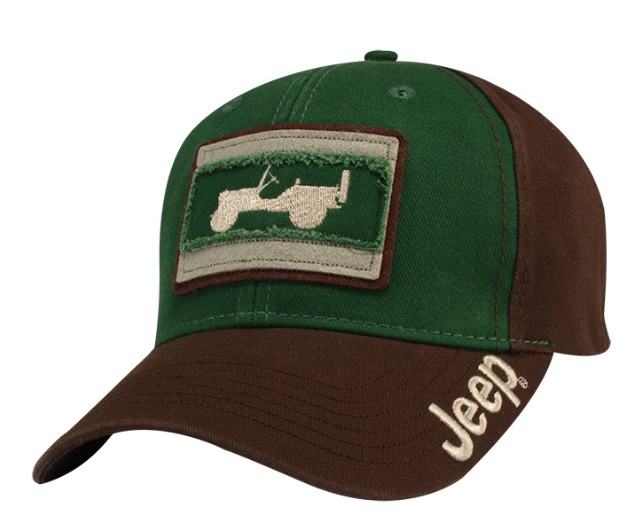Jeep Willy Green Cap