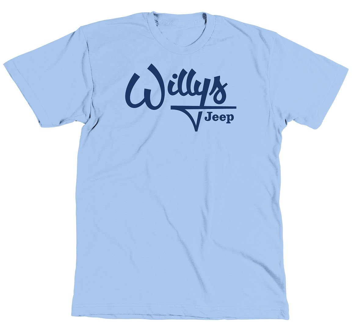 Jeep Willys Blue T-Shirt