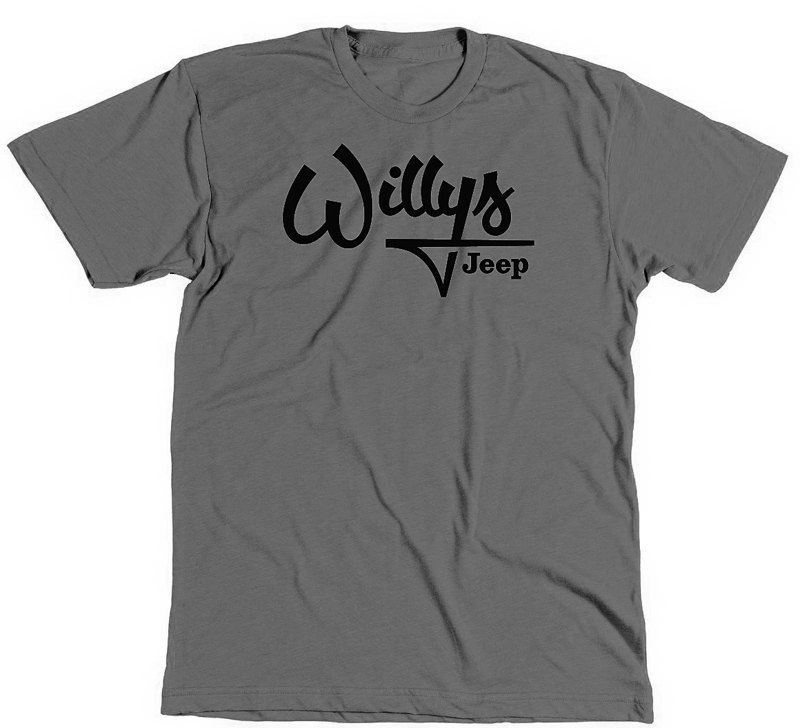 Jeep Willys Gray T-Shirt