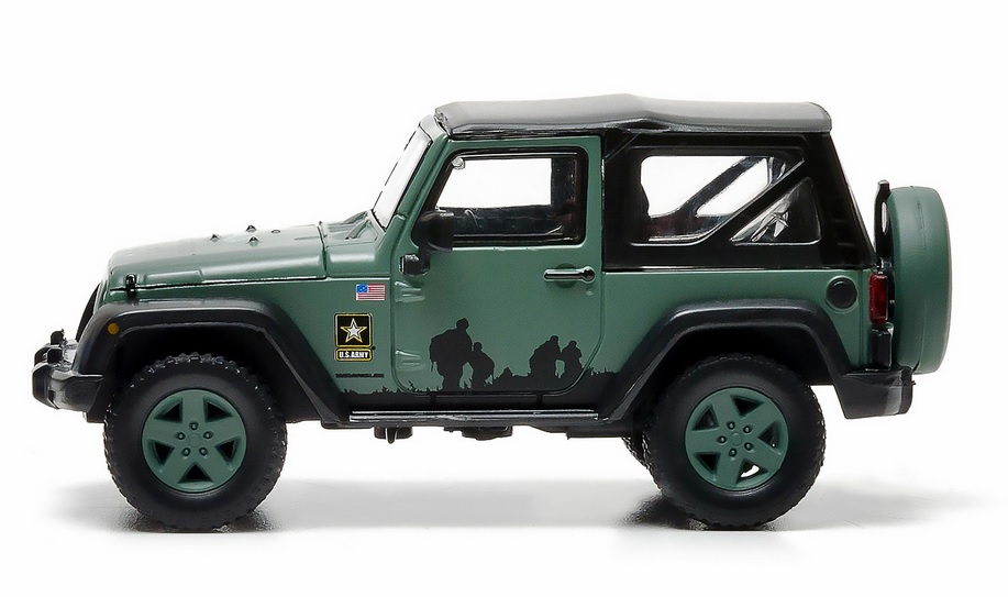 Jeep Wrangler Army Strong Diecast Vehicle