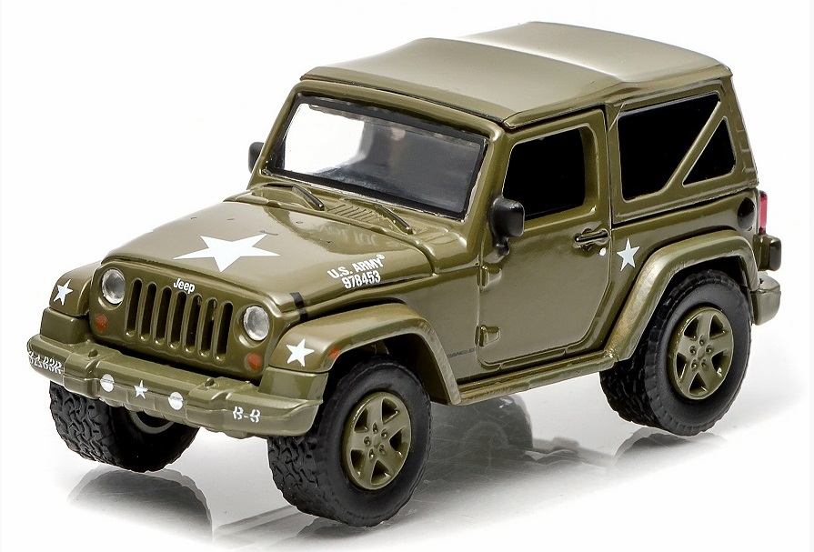 Jeep Wrangler Army Strong Star Diecast Vehicle