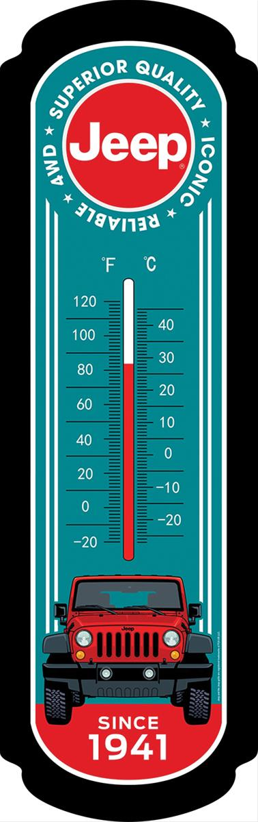 Jeep Wrangler Oversized Thermometer