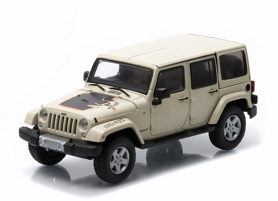 Jeep Wrangler Unlimited Mojave Diecast
