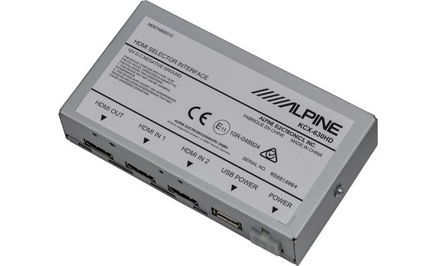 Alpine KCX-630HD HDMI Selector Interface