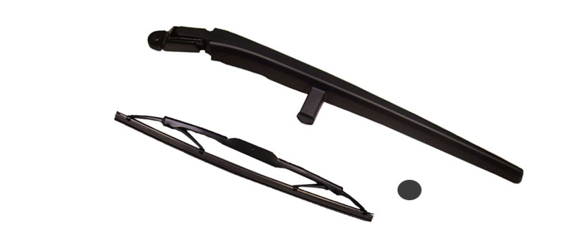 KK Rear Wiper Arm, Blade & Cap