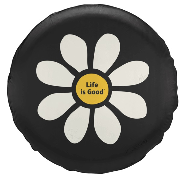 Life is Good New Daisy Tire Cover