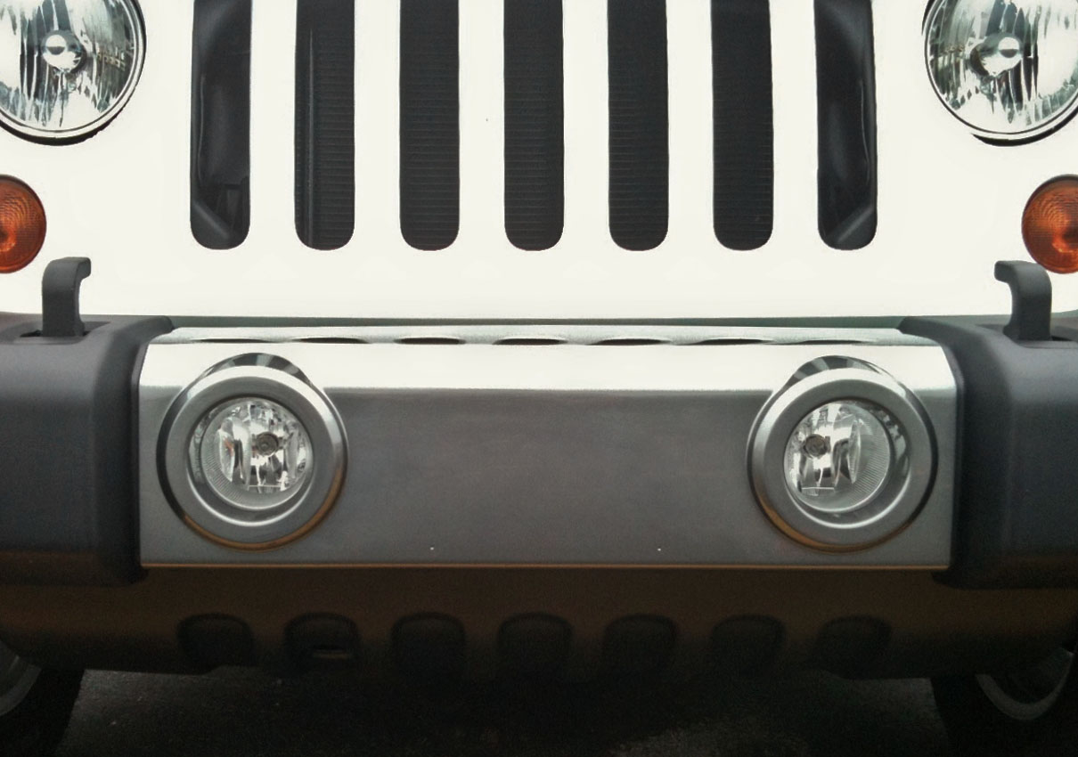 Mineral Grey Front Bumper Accent Kit