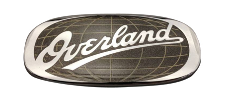 Overland Badge Decal