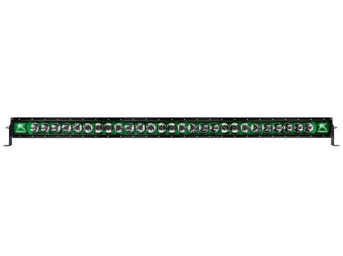 Rigid Industries Radiance Light bar with Green Back Light