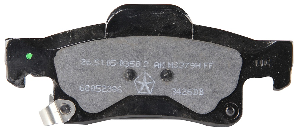 Rear Brake Pads (BR6, BRY or BR1)