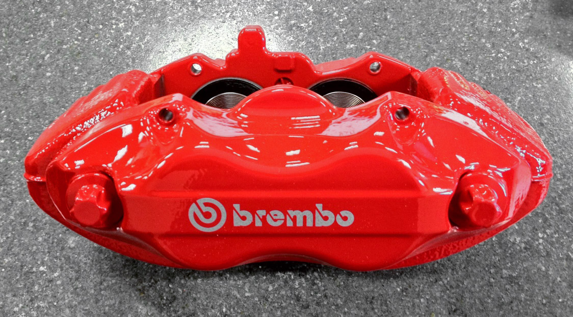 Red SRT8 Front Brembo Calipers